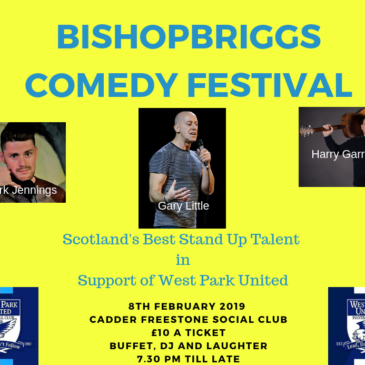 West Park Comedy Night 8 Feb 2019