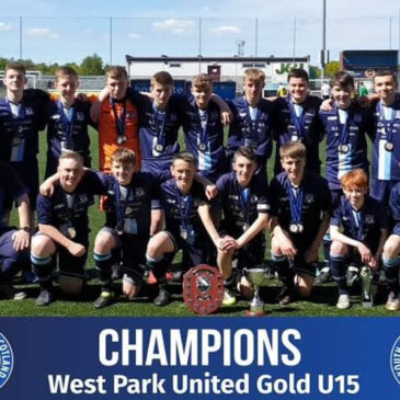 West Park 2004s Gold Double Success